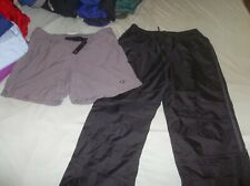 2 PAIR DKNY Windstopper Pant AND Mountain Hardwear Cargo Shorts Great Pockets XL