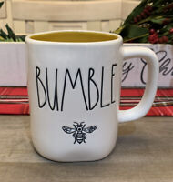 Rae Dunn By Magenta - LL BUMBLE BEE 🐝 - YELLOW Ceramic Coffee Mug