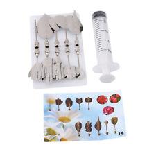 Jelly Flower Art Tools Jelly Cake Pudding Syringe Nozzle Set Cake Decor Tools B