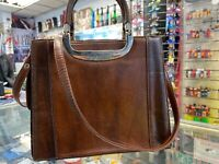 Genuine Alex Valentino Made In Italy Shoulder Bag Genuine leather Used Grade C