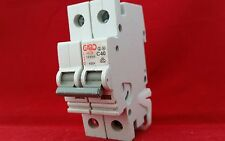 GARO 40A 40AMP C TYPE C40 DOUBLE POLE DP 2P MCB FUSE SWITCH