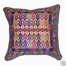 Palestinian Embroidered Cushion, Khan Younes Pillow