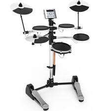 NEW AROMA TDX-10 ELECTRONIC DRUM SET in WHITE