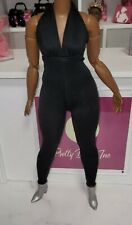 Barbie Signature Looks Doll  Black Jumpsuit with shoes Heels Outfit Complete