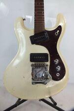 60's 1968 Morales Vibramatic White Japan Univox Mosrite model Ventures
