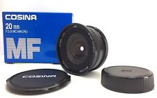【 Unused in Box 】Cosina 20mm f/3.8 MC Wide Angle Macro Lens for Contax Yashica