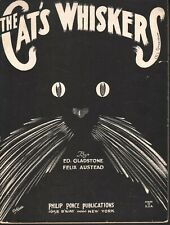 Cat's Whiskers 1923 Sheet Music
