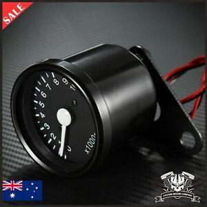 12V Universal Motorcycle Meter Speedometer Odometer Tachometer Speedometer Gauge