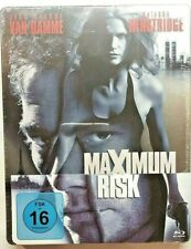 Maximum Risk - Uncut [Blu-ray im Steelbook /NEU/OVP] Jean-Claude van Damme