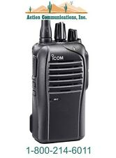 NEW ICOM IC-F4210D-01, UHF 400-470 MHZ, 4 WATT, 16 CHANNEL TWO WAY RADIO