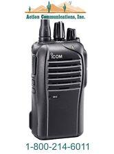 ICOM IC-F4210D-21, UHF 450-512 MHZ, 4 WATT, 16 CHANNEL HANDHELD TWO WAY RADIO