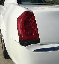 15-17 Chrysler 300 300C Reverse Light Precut Smoke Tint Overlays