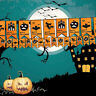 Pumpkin Scary Garland Halloween paper Decoration party decoration Banner Flags