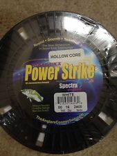Woodstock powerstrike 80lb 2400yd Hollow Core Braided Fishing Line MADE IN USA