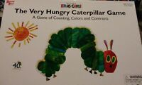 The Very Hungry Caterpillar Game Counting Colors Contrasts Eric Carle, Used