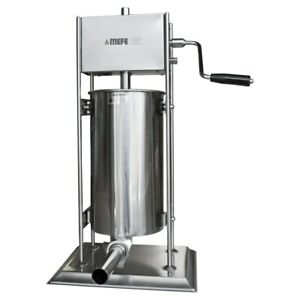Bench top Stainless Steel Sausage Filler 15L (CAT 360F15)