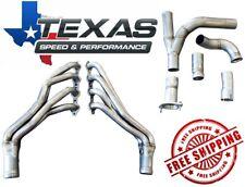"Texas Speed 07-13 Gm Truck 1-3/4"" Stainless Steel Long Tube Headers & O/R Y-Pipe"
