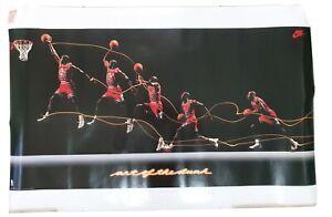 Michael Jordan - Art of the Dunk poster
