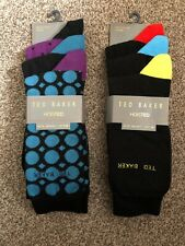 2x 3TED BAKER HOISTED With Organic Cotton sock set BNWT RRP£52 MC