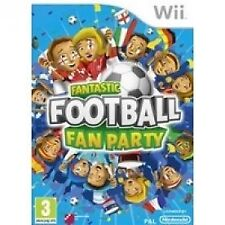 Fantastic Football Fan Party Nintendo Wii PAL UK **FREE UK POSTAGE!!** MINT