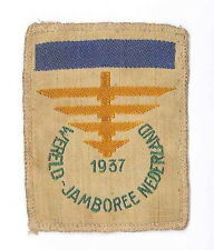 1937 World Scout Jamboree OFFICIAL PARTICIPANT SUB CAMP V (BLUE BAR) Patch