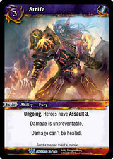 WOW WARCRAFT TCG WAR OF THE ANCIENTS : STRIFE X 3