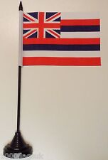 Hawaii US State Polyester Table Desk Flag