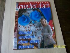 CROCHET D ' ART 312 TBE