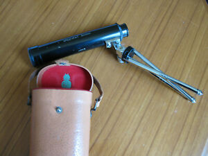 Telescope - Green Kat made in Japan - small scope for viewing nature