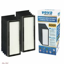 Veva Replacement Filter 8000 Air Purifier Hepa Carbon Eliminates Odor Home New