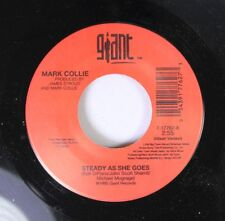 Country 45 Mark Collie - Steady As She Goes / Memories Still Missing Her) On Gia