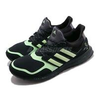 adidas UltraBOOST S and L M Glow Green Black Men Running Shoes Sneakers FV7284