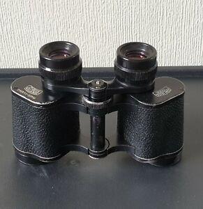 1979 CARL ZEISS  8 x 30W Multi- Coated DDR Jena JENOPTEM BINOCULARS #5341280