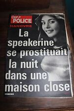 Qui ? Police N°123 - 28 Mai 1981 - Tueur de l'Oise - Eventreur du Yorshire...