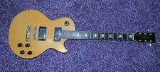 Vintage 1970's Univox Gimme Les Paul Copy Guitar Natural Flame Maple Free US S&H
