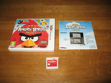 Nintendo 3DS game - Angry Birds Trilogy boxed complete