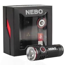 Nebo Torchy Pocket Led Flashlight 1000 Lumens Rechargeable Magnetic Base 5 Modes