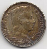 Münze 5 Lati Silber Lettland Pieci 1929 Latvijas Republika Silver Coin