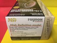 RAYNOX HDP-2800ES 0.28x Fisheye Lens 37 43 mm:JVC GZ-HD320/GZ-HM200/GZ-HD40 HD30