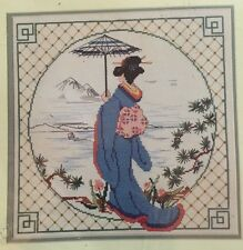 Dimensions Counted Cross Stitch 3571 Serene Shores Oriental Woman Sealed New