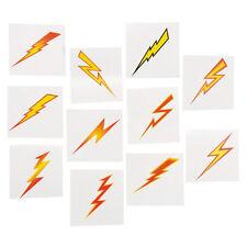 36 Assorted Fun Lightning Bolt Kids Temporary Tattoos Party Favors