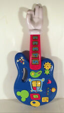 "18"" MICKEY MOUSE CLUBHOUSE MUSICAL ACTIVITY LIGHT &  SOUND GUITAR ELECTRONIC TOY"