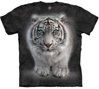Tiger King Wild Intentions Big Cat Snow Tigers Mountain Animal T-Shirt XL-3X