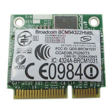PCI-E BCM94322HM8L DW1510 Mini Dual Band 300M Wireless Card For DELL E4200 E5500