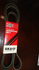 MIGHTY Serpentine Belt 6K817 (21.4mm x 2076.5mm)