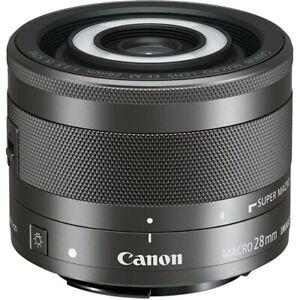 Canon EF-M 28mm F3.5 LED Macro Lens
