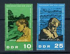 Germany DDR stamp:1965 The 90th Anniv. Birth Albert Schweitzer; SC#748,750; MH