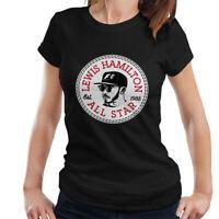 Lewis Hamilton All Star Converse Logo Women's T-Shirt