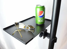 8Steel Tray for Speaker or Projector / Laptop stand - drink tray / mouse pad NEW