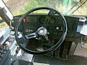 MCI COACH BUS STEERING WHEEL WITH HORN BUTTON - NICE CONDITION